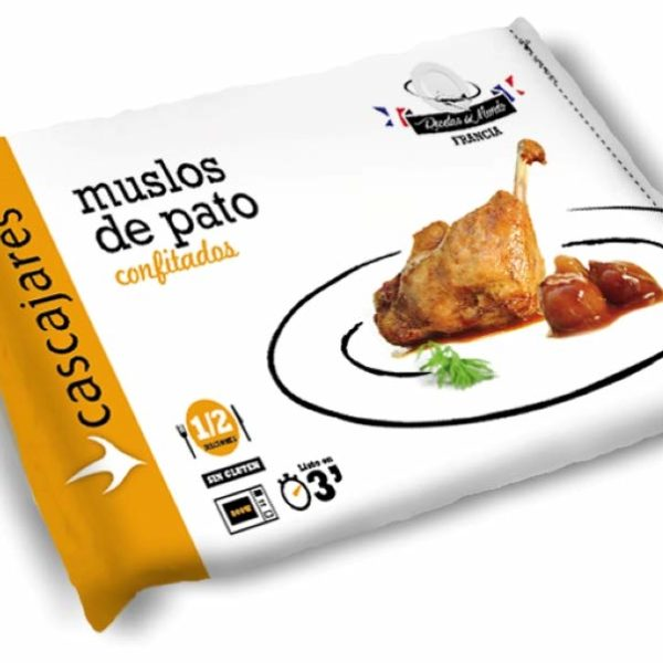 Bolsa de Muslos de Pato confitados Cascajares para llevar en Rivas Chicken
