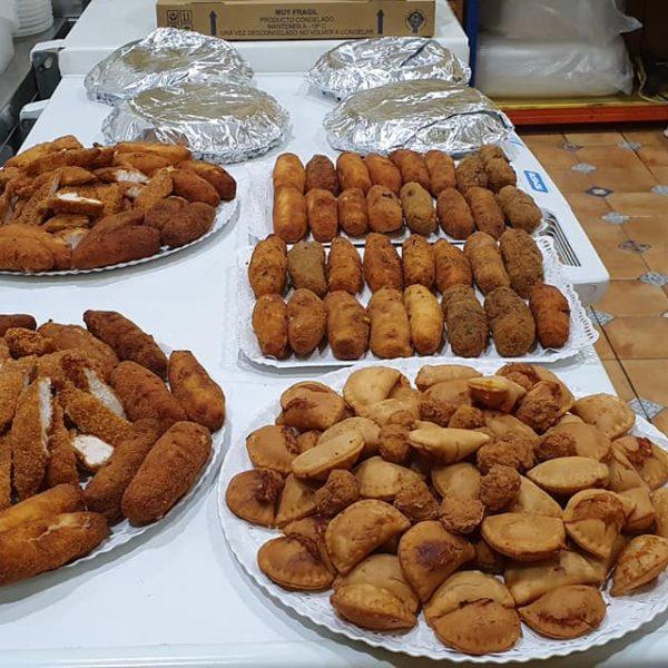 Catering Rivas y Arganda Tortilla, Croquetas, Empanadillas