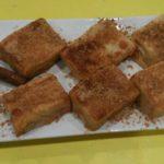 Leche frita de la abuela en Rivas Chicken