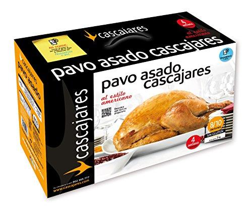 Pavo asado al estilo americano, típico plato de Acción de Gracias o de Navidad, 8-10 personas. Sin gluten ni lactosa para llevar rivas chicken