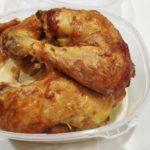 Pollo de corral asado de 1500 gramos comida para llevar en rivas chicken