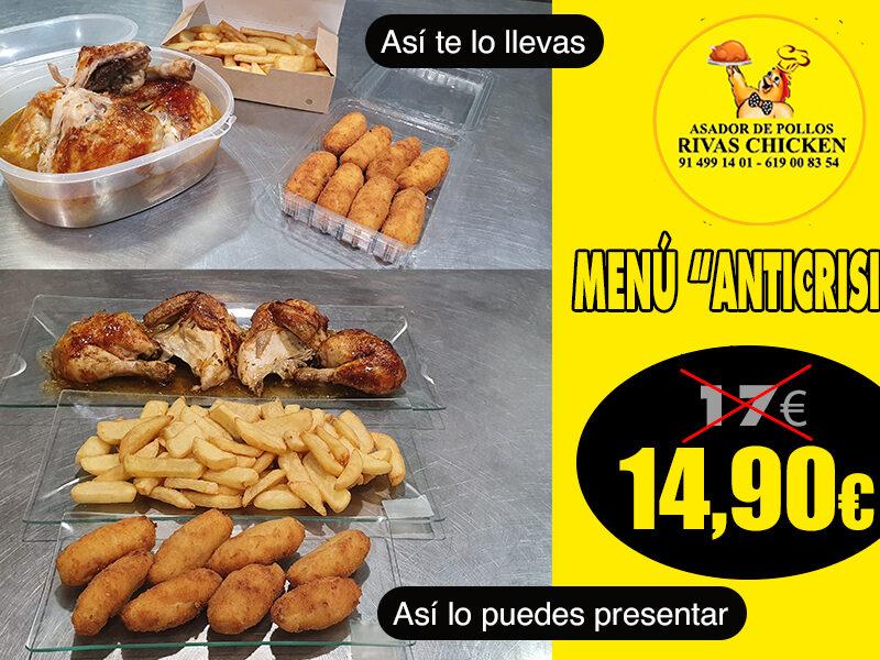Menú Anticrisis Rivas Chicken