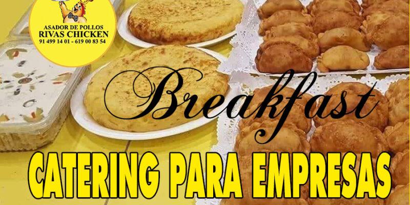 Catering para empresas en Rivas