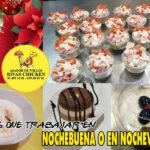 Menú de Nochevieja y Nochebuena en Rivas Chicken