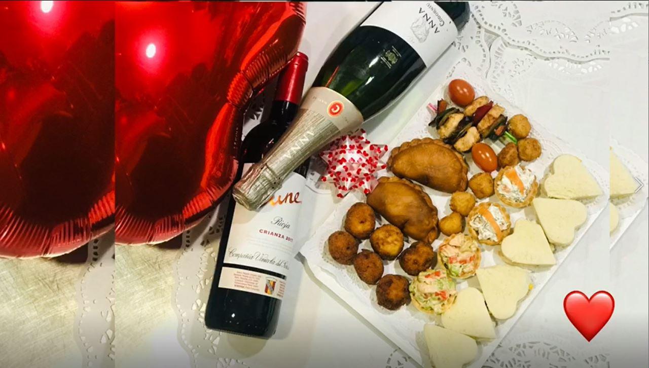 Cajas sensoriales para San Valentín dia de los enamorados en Rivas Chicken