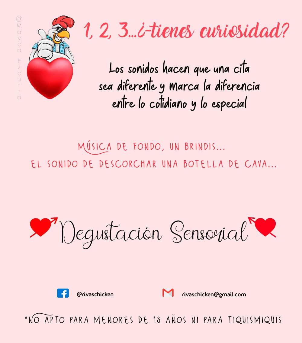 Cajas Sensoriales Rivas Chicken para San Valentín