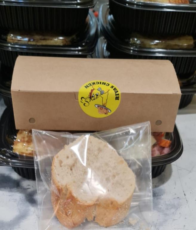 Solicita los Menús individualizados en Rivas Chicken 3